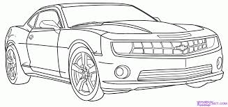 how to draw a race car how to draw a camaro step by step cars