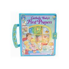 baptism engraved gifts catholic baby s prayers handle board book the catholic