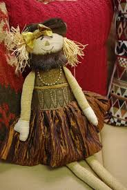 woof and poof woof poof fall xlg scarecrow girl jade floral by woof