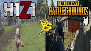 pubg vs h1z1 comparing h1z1 kotk to player unknowns battlegrounds youtube