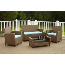 Mickey Mouse Patio Chair by Hampton Bay Belcourt 4 Piece Metal Patio Conversation Set With Spa