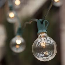 Solar Powered Patio Lights String Decoration Light Bulb With Chain Large Bulb String Lights