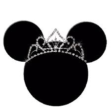 mickey mouse ears head outline christmas clipart library