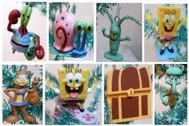 unique spongebob squarepants 8 tree ornament