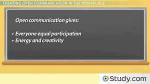 open communication in the workplace definition skills u0026 benefits
