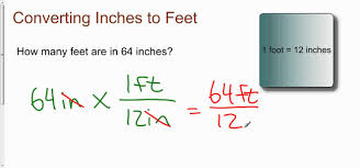 Computing Square Footage by Converting Inches To Feet Youtube