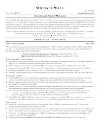 medical resume examples sample resume healthcare project manager frizzigame customer service experience resume sample resume sample