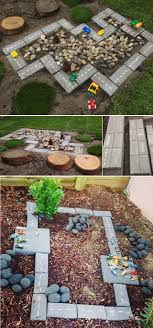 Kid Backyard Ideas Backyard Projects For Diy Race Car Track Home Design