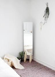 diy minimal floor mirror the merrythought floor mirror