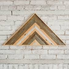 reclaimed wood wall large reclaimed wood wall large triangle gray bijou lovely