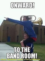 Band Kid Meme - band room baritone music music memes band kids brass player low