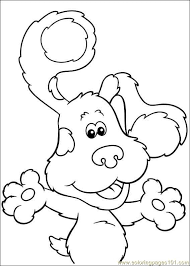 blues clues 19 coloring free printable coloring pages