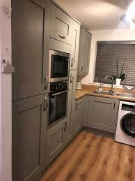 painting kitchen cabinets frenchic mrs hinch fan uses 18 paint to give tired kitchen a