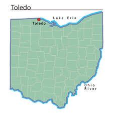 toledo ohio map toledo ohio ohio history central