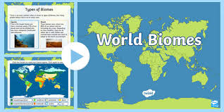 biomes map biomes map powerpoint climates geography