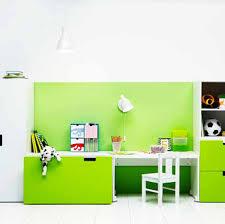 ikea study desk for kids white color polka dot swivel chair brown