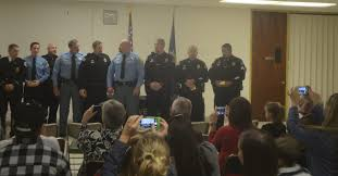 team honored for service during wichita stand off news the
