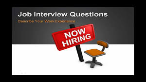 Help Desk Manager Interview Questions The Job Interview How To Answer Job Interview Question Describe