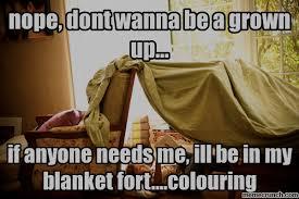 Blanket Fort Meme - sentiments exactly