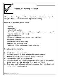 best 25 procedural writing ideas on pinterest procedure writing