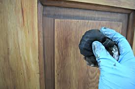 how to refinish a wooden front door the space to grow