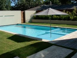contemporary pools in the modern home backyard garden interior