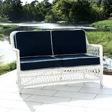 Lakeview Outdoor Furniture by Loveseat Decoration White Resin Wicker Patio Furniture With