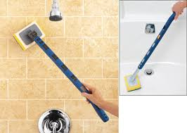 Bathtub Scrubber Shower Tub Tile Scrubber Brush From Collections Etc
