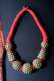 ethnic necklace images Big bold ethnic necklace from nepal fair trade JPG