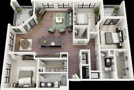 three bedroom house plans 3 bedroom home design plans 3 bedroom house plans 3d design 7