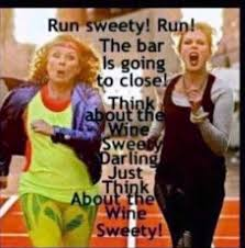 Ab Fab Meme - patsy running
