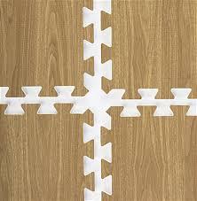 Hardwood Floor Mat Light Oak Interlocking Wood Floor Mats 10 U0027 X 10 U0027 Exhibit Floor