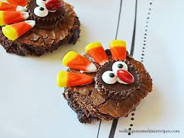recipe easy thanksgiving turkey brownies the treat