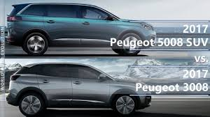 peugeot 3008 2017 peugeot 5008 vs peugeot 3008 suv is the length the only difference