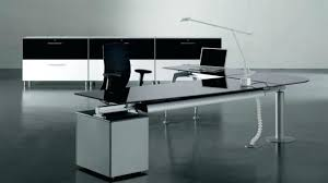 Modern Glass Executive Desk New Modern Glass Office Desk Regarding Executive Furniture