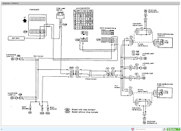 nissan d21 wiring diagram for taillight assembly beautiful tail