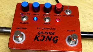 gristle king version 1 t c jauernjg greg koch les paul custom