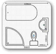 Standard Size Of Master Bedroom In Meters Bathroom Design Tools U0026 Standard Sizes To Consider The Log Home