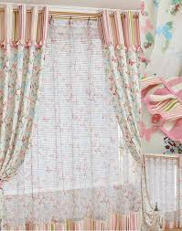 beautiful design ideas of window curtain with white cream and