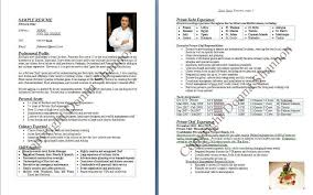 chef resumes exles sle chef resumes of resume exles sous buckey us