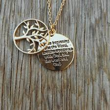 bible verse jewelry tree of bible verse necklace petunia pines co