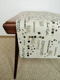 Coffee Table Runners Linen Table Runner In Coffee Pattern Linen 4 You