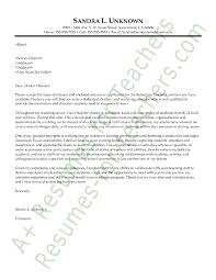 cover letter example of a teacher with a passion for teaching cv