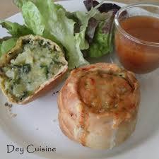 chausson cuisine dey cuisine knish chausson pomme de terre courgette comté