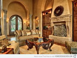 Stunning Tuscan Living Room Designs Helyek - Tuscan family room