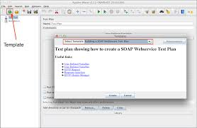 apache jmeter user u0027s manual building a soap webservice test plan