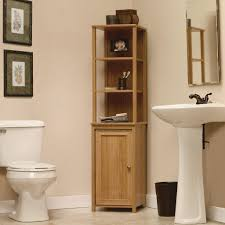 bathroom bathroom storage tower for small space bamboo bathroom