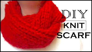 how to knit a circle scarf diy christmas gifts for mom youtube