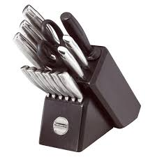 kitchen aid knives modern kitchens design with 14 pieces black kitchenaid knives set