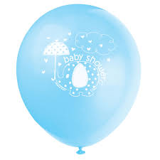 baby shower balloons 12 blue elephant baby shower balloons 8ct
